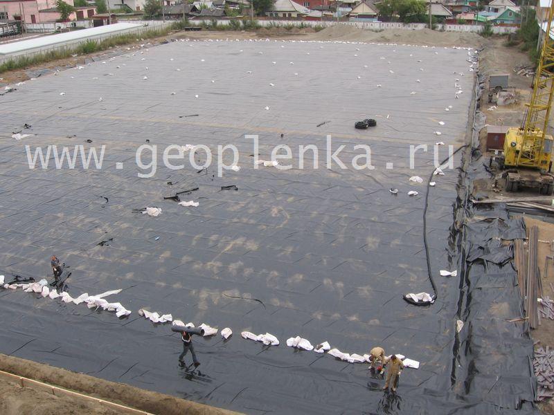 Геомембрана под бетон купить пигменты для бетона в смоленске